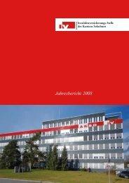 Jahresbericht 2008 - IV-Stelle des Kantons Solothurn