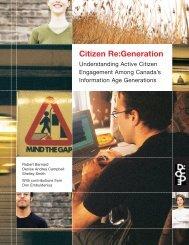 Citizen Re:Generation - Sector Source - Imagine Canada