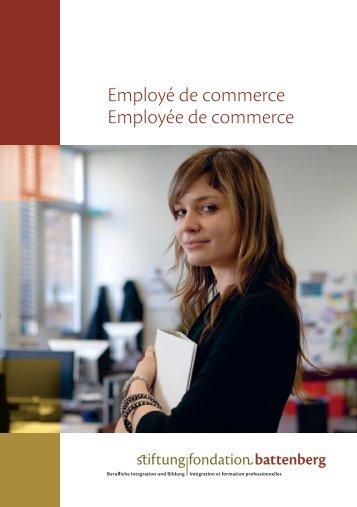 Employé de commerce Employée de commerce - Fondation ...