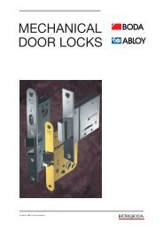 Locks for interior doors - Protect - O firmie