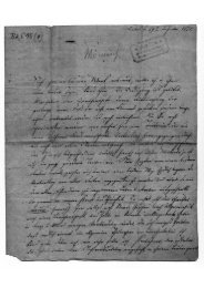 Brief von Wilhelm Bernhard Mönnich an Friedrich Ludwig Jahn über ...