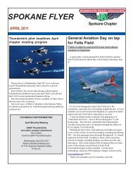 April 2011 - Washington Pilots Association