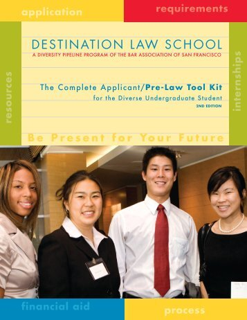 DESTINATION LAW SCHOOL - The Bar Association of San Francisco
