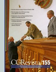 • Contralor General entrega Informe de Gestión 2008 • Plan ...