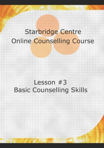 the counselling relationship essay