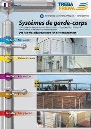 Systémes de garde-corps - Treba Bausysteme GmbH