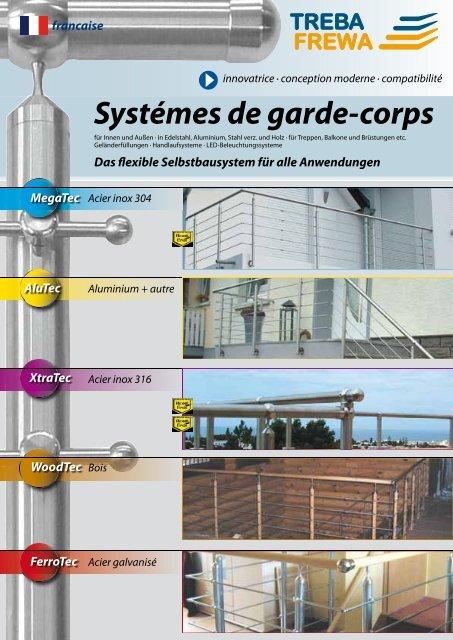 Systémes De Garde Corps Treba Bausysteme Gmbh
