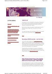 Page 1 of 5 Quality & Tertiary Education Policy e-news (Issue 108) 3 ...
