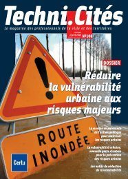 Dossier : Réduire la vulnerabilité urbaine aux risques ... - Euromedina