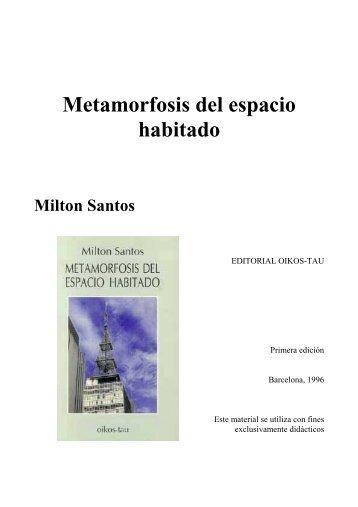 Metamorfosis del espacio habitado - Uruguay Educa