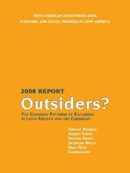 inter-american development bank economic and social progress in ...