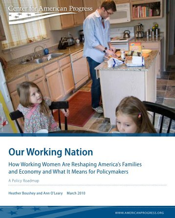 Our Working Nation - Center for American Progress
