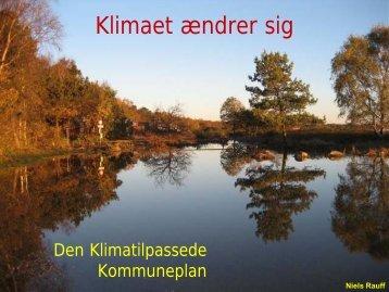 Klimasikring gennem kommuneplanen - Byforskning