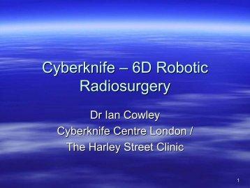 Cyberknife – 6D Robotic Radiosurgery