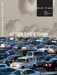 2009 Annual Report - RioCan