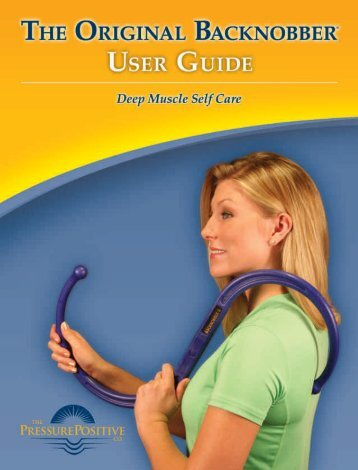 to download a FREE Backnobber User Guide - The Pressure ...