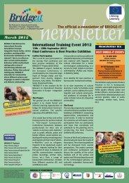 newsletter 6 EN vers 11.cdr - Bridge-it - communicationproject.eu