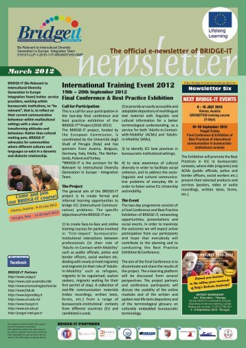 newsletter 6 EN vers 11.cdr - Bridge-it - communicationproject.eu