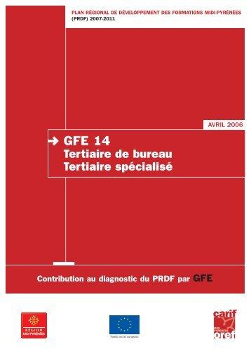 GFE 14 Tertiaire de bureau Tertiaire spécialisé - Carif Oref Midi ...