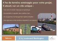 4 ha de terrains aménagés pour votre projet, 4 atouts sur un site ...