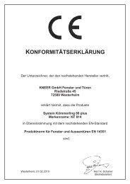 KF 814 - Kneer GmbH