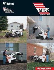Bobcat® MT52 Mini Track Loader - HGMA Wulf GmbH
