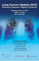 Program Brochure - Columbia Presbyterian Department of Surgery