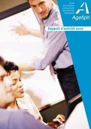 Rapport d'activité 2000 - Handiplace