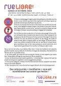 Manifeste Rue Libre - Page 2