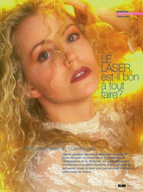 Esthétique, le laser - Magazine Sports et Loisirs