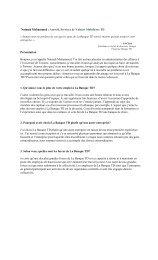 obtenir les questions et réponses en format PDF. - TD Securities