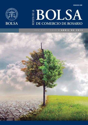 RevistaAbril 2013 - Bolsa de Comercio de Rosario