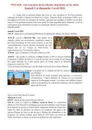 Samedi 2 et dimanche 3 avril 2011 - L'association des Amis de Saint ...