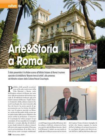 Arte&Storia a Roma - Gianni Mores Home Page