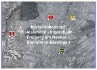 Verkehrskonzept Pleidelsheim - Ingersheim - Stadt Freiberg am ...
