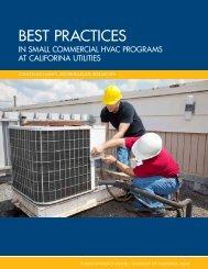 BEST PRACTICES - UC Davis Energy Efficiency Center