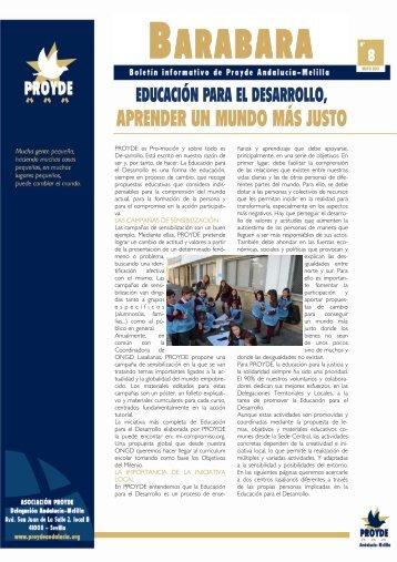 educación para el desarrollo, aprender un mundo más justo
