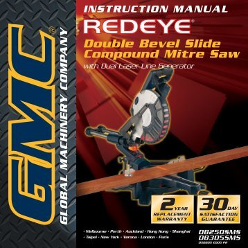 GMC 920210 Double Be - User Manual - Toolbox