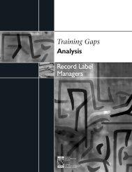 Record Label Managers - Conseil des ressources humaines du ...