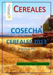 ESTIMACIóN DE COSECHA DE CEREALES 2013 EN...
