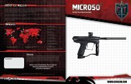 GI Milsim Micro 50 Manual - Paint Supply GmbH