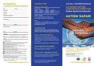 Download World Autism Brochure - SBS Conferences