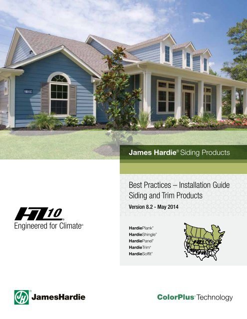 Best Practices A Installation Guide Siding And Trim James Hardie