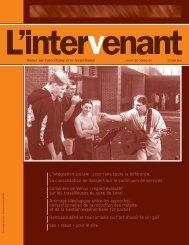 Octobre 2003 . Int.rieur F - Association des intervenants en ...