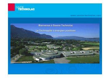 Le développement durable sur Savoie Technolac
