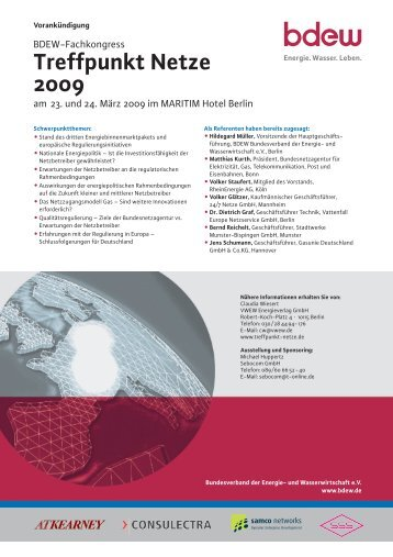 Treffpunkt Netze 2009 - TAM
