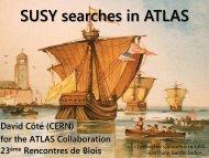 SUSY searches in ATLAS
