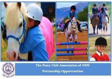 2014 PCANSW Partnership Opportunities - Pony Club Association ...