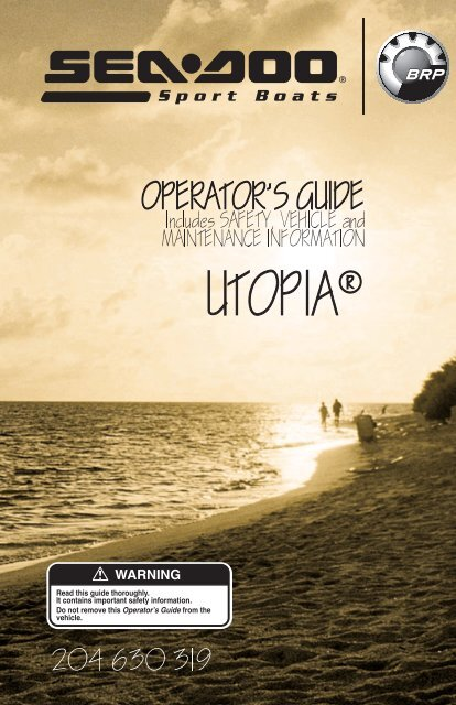 Utopia - Sea-Doo net