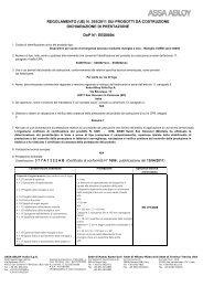 DoP EED0004 - CORNI Handle 04450 series - EN ... - ASSA ABLOY